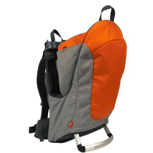 phil-teds-metro-urban-child-carrier-3-4-of-metro-carrier-resting-on-base-orange-charcoal